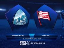 Ruch Chorzów 0:1 Cracovia Kraków
