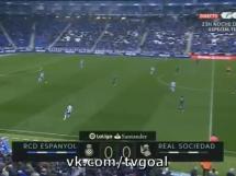 Espanyol Barcelona 1:2 Real Sociedad