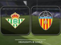 Betis Sewilla 0:0 Valencia CF