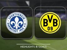 SV Darmstadt 2:1 Borussia Dortmund