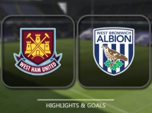 West Ham United 2:2 West Bromwich Albion