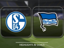 Schalke 04 2:0 Hertha Berlin