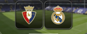 Osasuna 1:3 Real Madryt