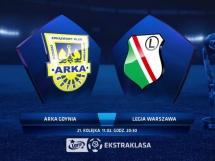 Arka Gdynia 0:1 Legia Warszawa