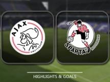 Ajax Amsterdam 2:0 Sparta Rotterdam