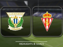 Leganes 0:2 Sporting Gijon