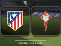 Atletico Madryt 3:2 Celta Vigo
