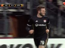 AZ Alkmaar 1:4 Olympique Lyon