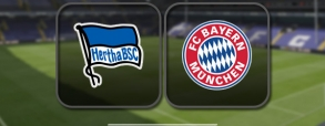 Hertha Berlin 1:1 Bayern Monachium