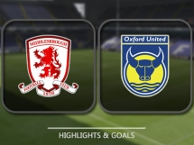 Middlesbrough 3:2 Oxford United