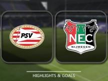 PSV Eindhoven 3:1 NEC Nijmegen