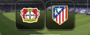 Bayer Leverkusen 2:4 Atletico Madryt