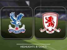 Crystal Palace 1:0 Middlesbrough