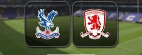 Crystal Palace 1:0 Middlesbrough