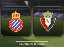Espanyol Barcelona 3:0 Osasuna