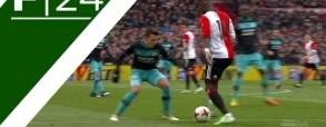 Niesamowity trick Eljero Eli w meczu z Feyenoordem! [Wideo]