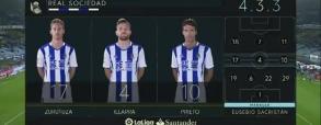 Real Sociedad 2:2 SD Eibar