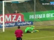 Wigry Suwałki 0:3 Arka Gdynia