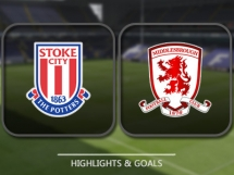 Stoke City 2:0 Middlesbrough