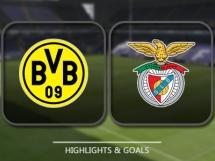 Borussia Dortmund 4:0 Benfica Lizbona