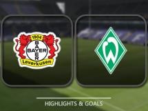 Bayer Leverkusen 1:1 Werder Brema