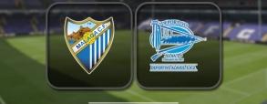 Malaga CF 1:2 Deportivo Alaves