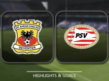Go Ahead Eagles 1:3 PSV Eindhoven