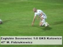 Zagłębie Sosnowiec 1:0 GKS Katowice