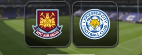 West Ham United 2:3 Leicester City