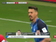 Hoffenheim 1:0 Bayer Leverkusen
