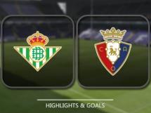 Betis Sewilla 2:0 Osasuna