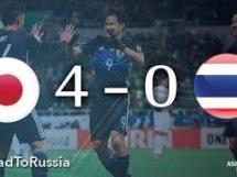 Japonia 4:0 Tajlandia