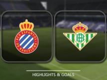 Espanyol Barcelona 2:1 Betis Sewilla