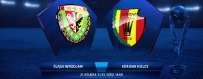 Śląsk Wrocław 3:0 Korona Kielce