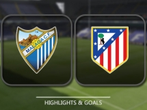 Malaga CF 0:2 Atletico Madryt