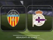 Valencia CF 3:0 Deportivo La Coruna