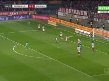 Eintracht Frankfurt 2:2 Werder Brema