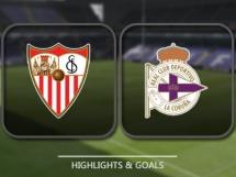 Sevilla FC 4:2 Deportivo La Coruna