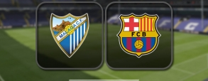 Malaga CF 2:0 FC Barcelona