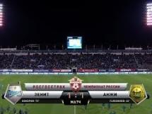 Zenit St. Petersburg 1:1 Andżi Machaczkała
