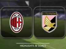 AC Milan 4:0 US Palermo