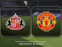 Sunderland 0:3 Manchester United