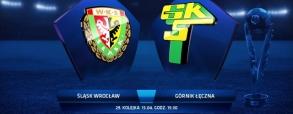 Śląsk Wrocław 2:2 Górnik Łęczna