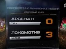 Arsenal Tula 0:3 Lokomotiw Moskwa