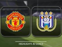 Manchester United 2:1 Anderlecht