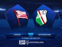 Cracovia Kraków 1:2 Legia Warszawa
