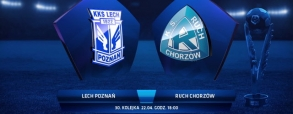 Lech Poznań 3:0 Ruch Chorzów