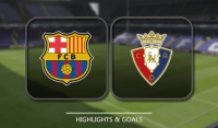 Barcelona rozgromiła Osasunę! [Wideo]