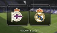 Skrót meczu : Deportivo La Coruna - Real Madryt [Wideo]