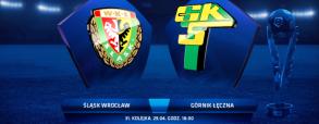 Śląsk Wrocław 0:2 Górnik Łęczna